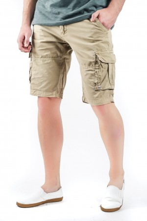 Freshgear Cargo Shorts - Smart Collection In Brown