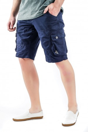 Freshgear Cargo Shorts - Smart Collection In Blue
