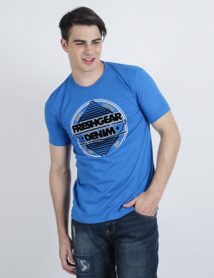 Freshgear Graphic Tees In Blue