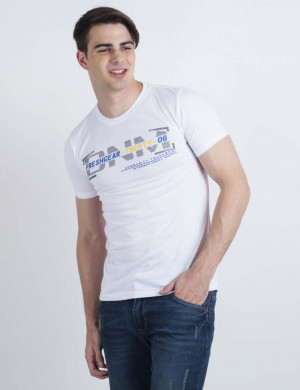 Freshgear Graphic Tees In White