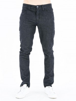 Freshgear Low Slim Basic 5 Pocket Jeans in Dark Denim