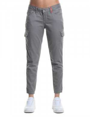 Freshgear Cargo Non Denim Pants In Gray