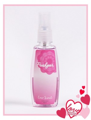 Freshgear by Rodeo Drive Love Corner Sweet Pea Scent for Women Body Spray (50ml)