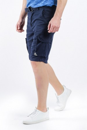 Low Rise Cargo Shorts with Belt