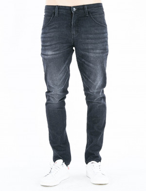 Freshgear Low Slim Utility Jeans in Black