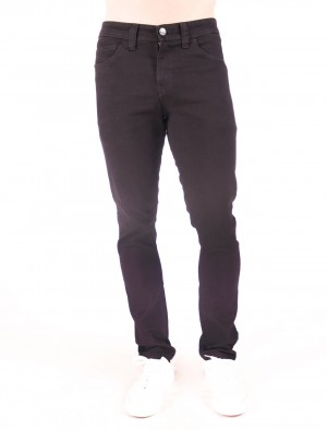 Freshgear by Rodeo Drive Low Rise Slim Narrow Basic Five Pocket in Black